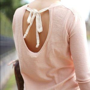 Aritzia Babaton Pink Bailey Sweater Small